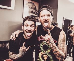 pierce the veil, ptv, and sleeping with sirens image