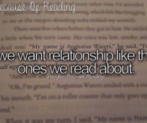 book, Relationship, and because of reading image