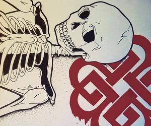 art, band, and drawing image