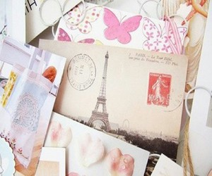 I Love You, paris, and Letter image