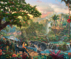 disney, jungle book, and baloo image