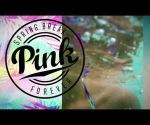 pink, spring break, and vspink image