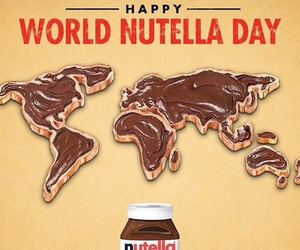 nutella, chocolate, and world image