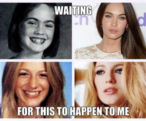 megan fox, blake lively, and waiting image