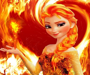 fire and elsa image
