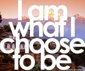 quote, choose, and text image