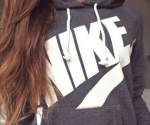 nike, hair, and style image
