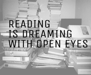 books, Dream, and imagination image
