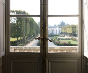 garden, palace, and versailles image