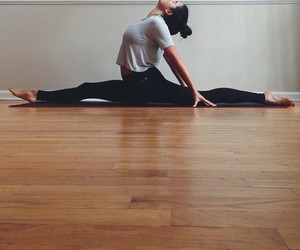 split, dance, and fitness image