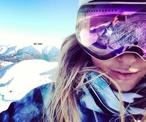 girl, snow, and luxury image