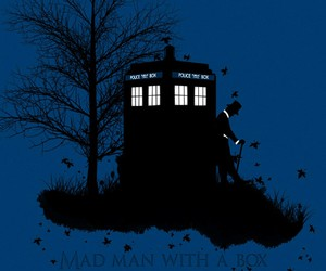 doctor who and mad man with a box image