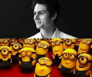 minions, teen wolf, and dylan image
