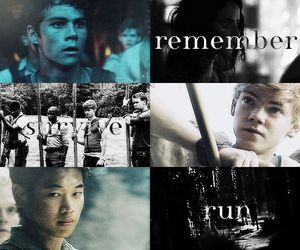 movie, sangster, and maze runner image