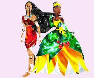 disney, tiana, and pocahontas image