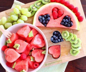 body, food, and FRUiTS image
