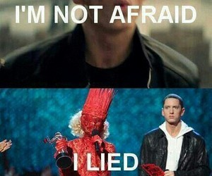 eminem, Lady gaga, and funny image