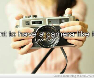 quote, camera, and pretty image