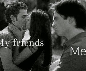 friends, tvd, and me image
