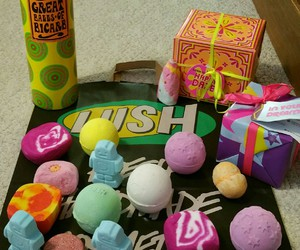 bath bombs, beauty, and style image