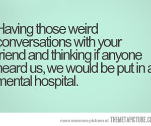 best friends, conversation, and funny image