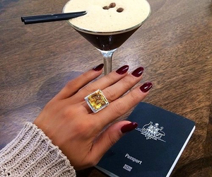 girl, nails, and luxury image