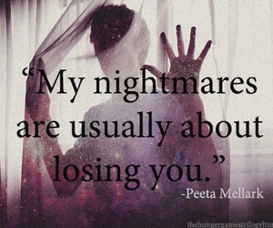 nightmare, quote, and peeta image