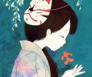 anime and fish image