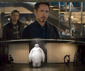 Avengers, funny, and baymax image