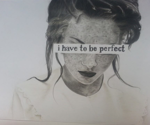 art, girl, and perfection image