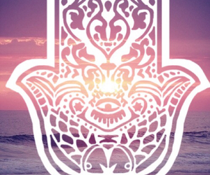 hamsa and background image
