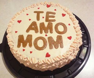 cakes, diy, and love you mom image