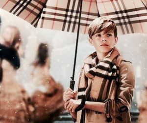 Burberry, romeo beckham, and beckham image