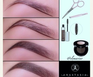 beauty, fashion, and eyebrows image