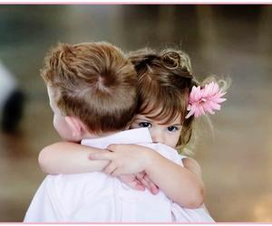 love, hug, and kids image