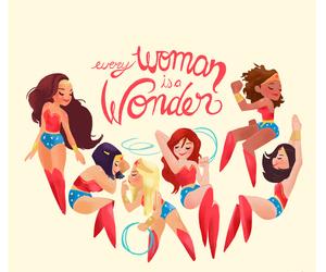 girl, woman, and wonder woman image