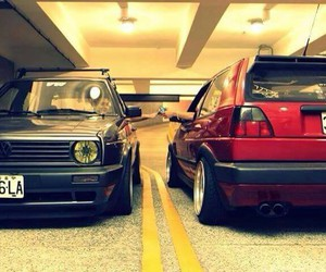 grey, red, and vw image
