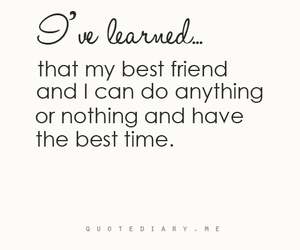 quote and best friends image