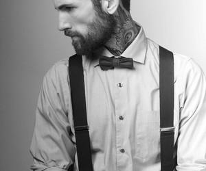 tattoo, beard, and boy image