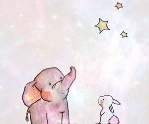 background, elephant, and cute image