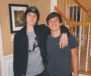 nash grier, hayes grier, and brothers image