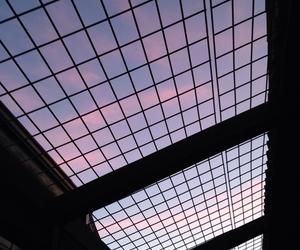 sky, grunge, and pink image