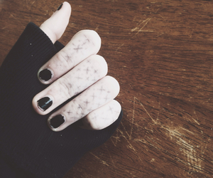 art, hipster, and nails image