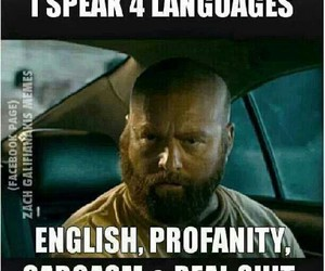 funny, lol, and languages image
