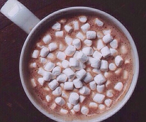 chocolate, tumblr, and drink image
