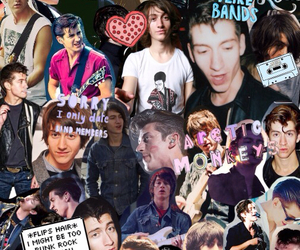 alex turner, arctic monkeys, and background image