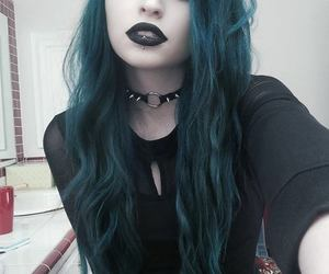 389 Images About Dark Blue Hair On We Heart It See More About Blue
