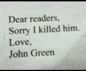 book, john green, and augustus image
