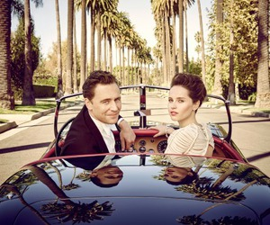 tom hiddleston, Felicity Jones, and Vanity Fair image