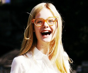 Elle Fanning, girl, and smile image